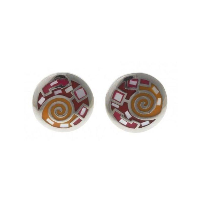 Boucles d'oreilles bijou fantaisie pour femme en acier - Sunshine