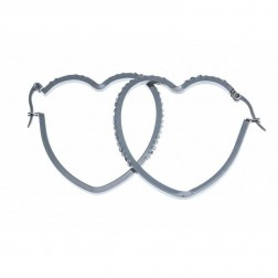 Bijou boucle d'oreille acier inoxydable fantaisie pour femme - Symbiose