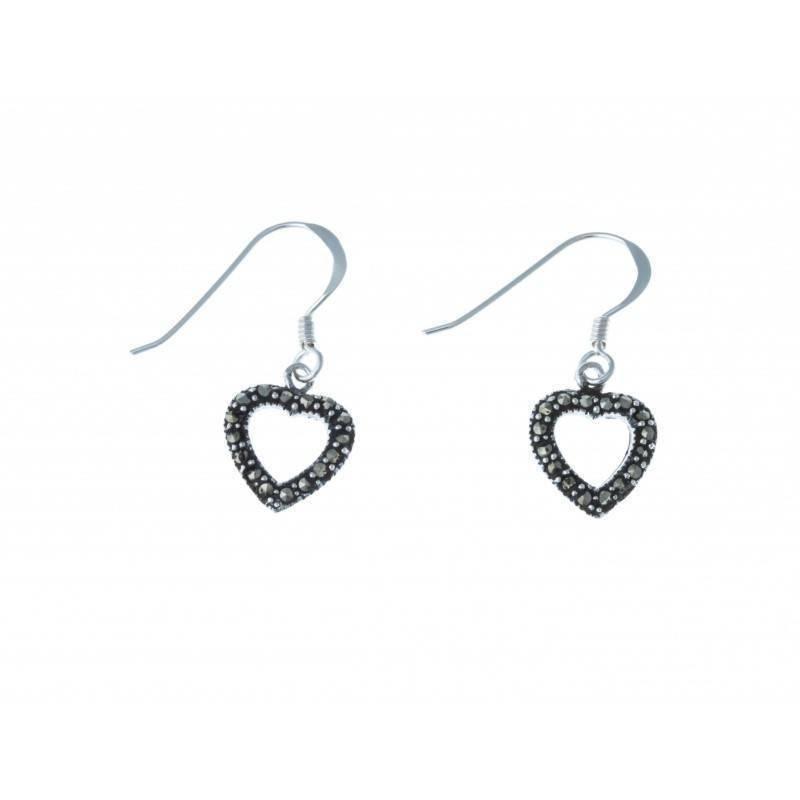 Boucles d'oreilles bijou fantaisie pour femme en argent - Axou