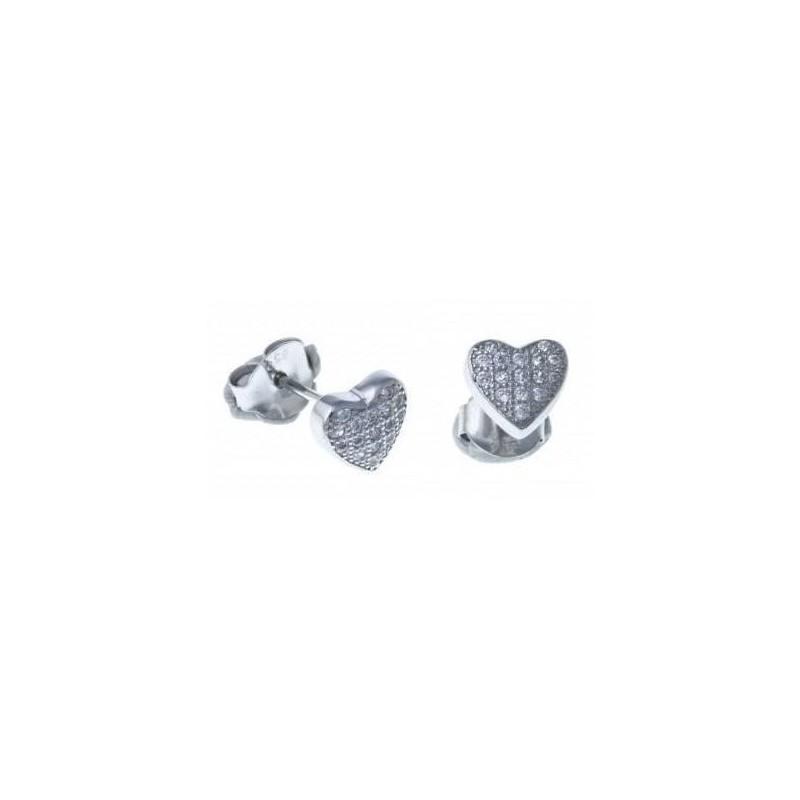 Boucles d'oreilles bijou fantaisie pour femme en argent - Mymi