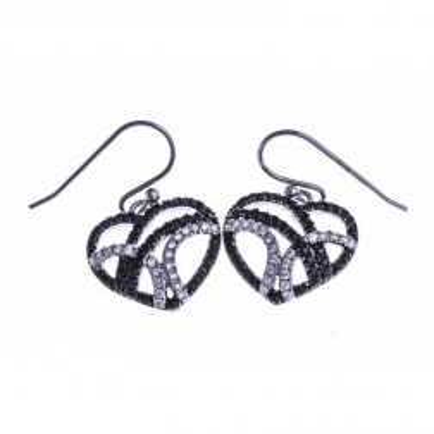 Boucles d'oreilles bijou fantaisie pour femme en argent - Zyva