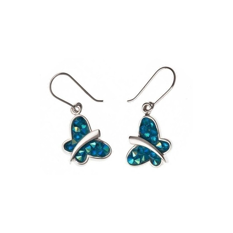 Boucles d'oreilles fantaisie pour femme en Cristal - Rock-envol