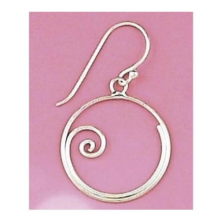 Boucles d'oreilles en argent 925/1000 - Arla