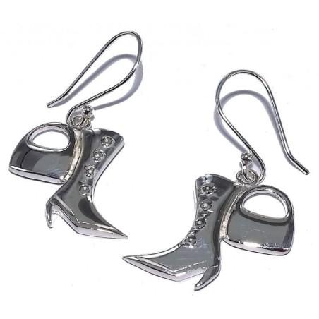 Boucles d'oreilles argent femme - Fashionista