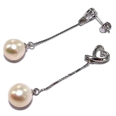 Boucles d'oreilles perles femme - Nya