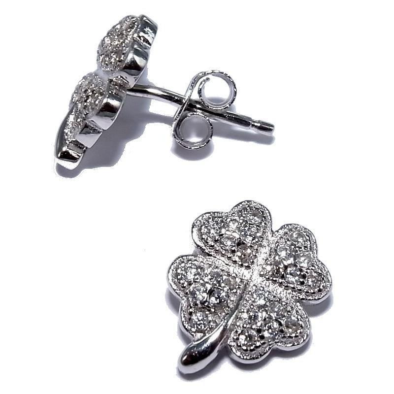 Boucles d'oreilles bijou fantaisie pour femme en argent - Tada