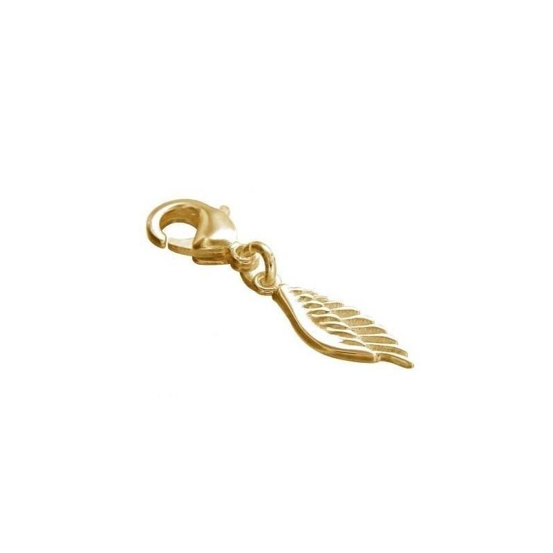 Charm tendance pour femme LZ en plaqué or - Aile