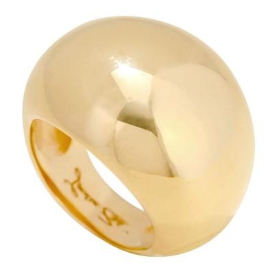 Bague Gaudron en plaqué or pour femme LZ - Boule