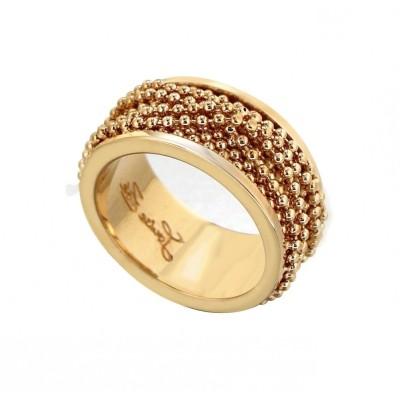 Bague pour femme en plaqué or LZ - Eva