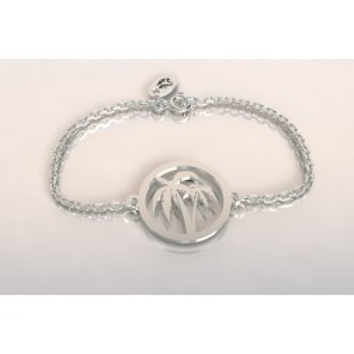 Bracelet de créateur en argent, unisexe - Cocotier