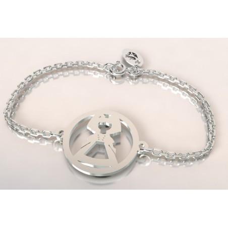 Bracelet de créateur en argent, unisexe - Alsacienne