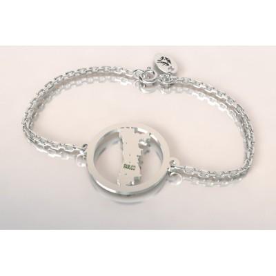 Bracelet créateur en argent, mixte - Alsace