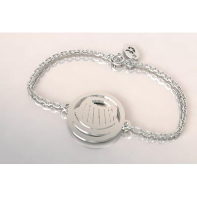 Bracelet créateur en argent, mixte - Kouglof