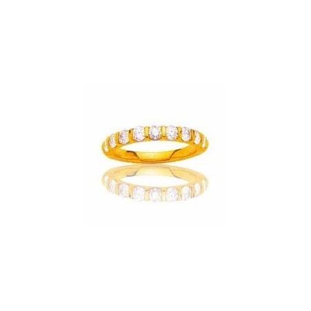 Alliance en or et diamants - La Croisette