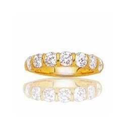 Alliance femme en or 18 carats et diamant - Niagara