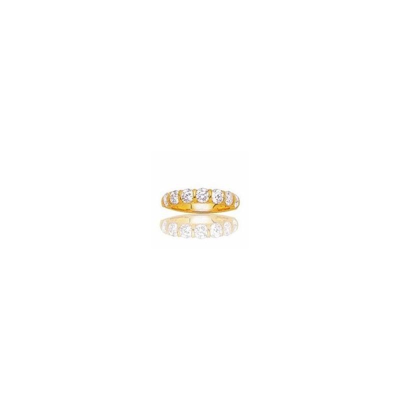 Alliance pour femme en or 18 carats et diamant -Niagara