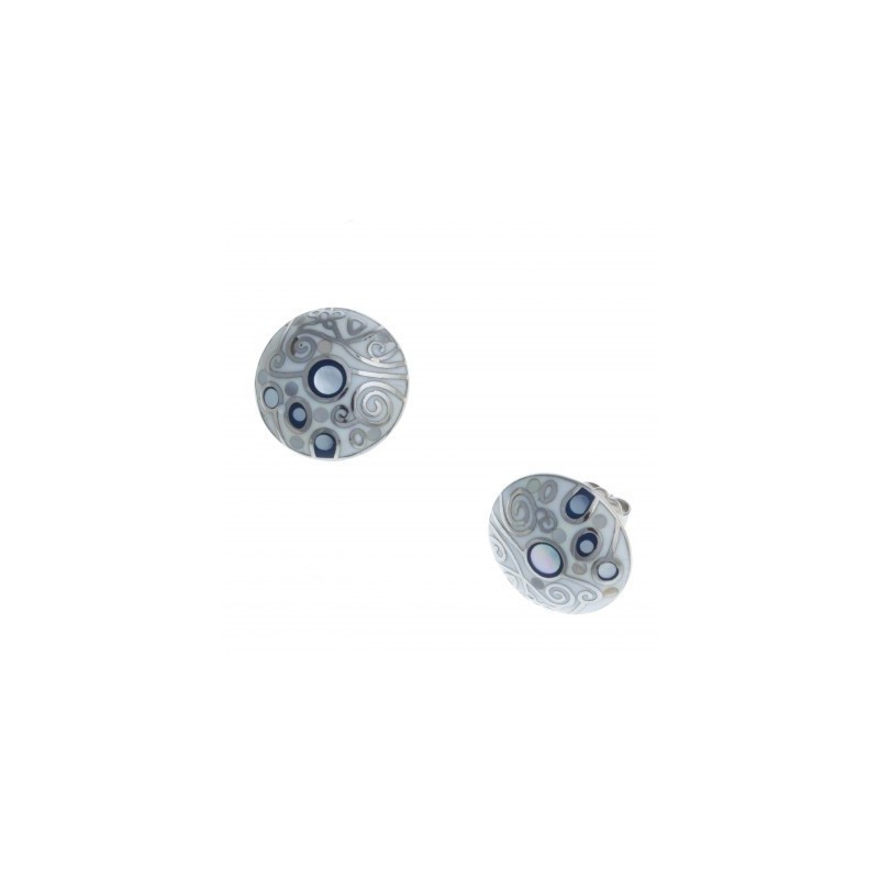 Boucles d'oreilles bijou fantaisie pour femme en acier - Vertige