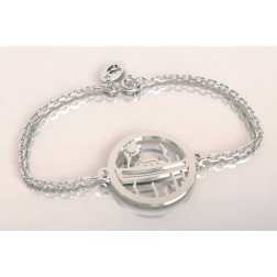 Bracelet de créateur en argent, unisexe - Bateau Pinasse