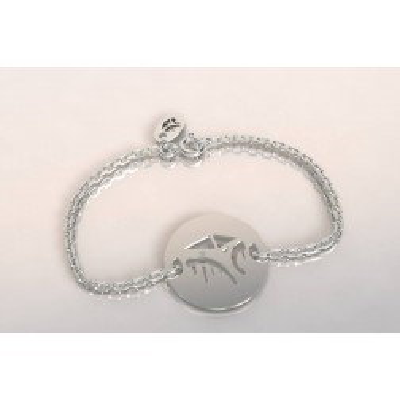 Bracelet créateur en argent, mixte - Cabane Tchanquée
