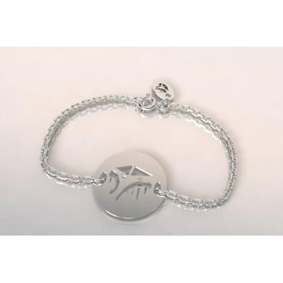 Bracelet de créateur en argent, unisexe - Cabane Tchanquée