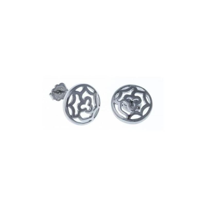 Boucles d'oreilles bijou fantaisie pour femme en acier - Irina