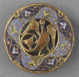 médaillon sirène bijou du XIIIe siècle