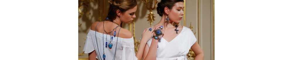 La nouvelle tendance des bijoux oeil bleu dans le monde de la mode