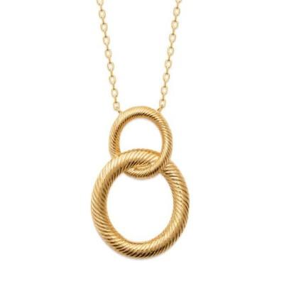 Collier pour femme en plaqué or, pendentif noeud marin