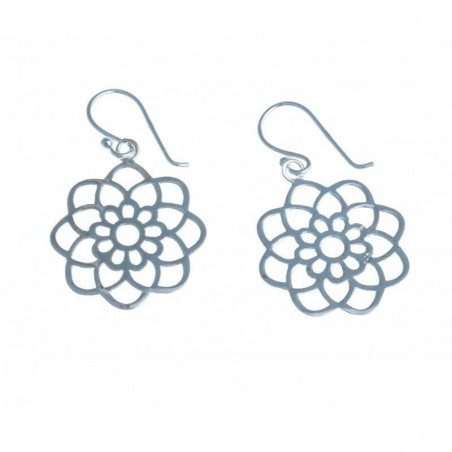 Boucles d'oreilles en argent 925 - Rosina