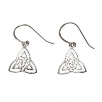 Boucles d'oreilles triangle en argent pour femme - Tria - Lyn&Or Bijoux