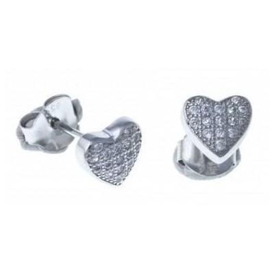 Boucles d'oreille en argent 925 pour femme - Mymi - Lyn&Or Bijoux