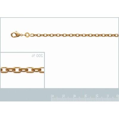 chaine pour pendentif, collier pour femme en plaqué or 45 cm, 50 cm, 55 cm, 60 cm, 70 cm
