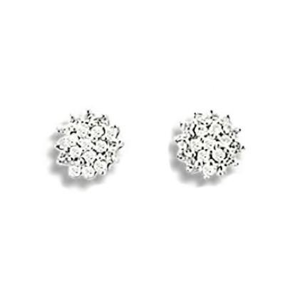 Boucles d'oreilles en or et diamant pour femme