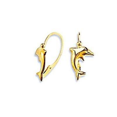 Boucles d'oreilles or pour fille - Atlantique - Lyn&Or Bijoux