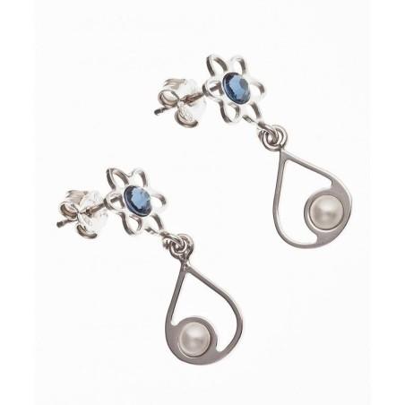 Boucles d'oreilles en argent 925/1000 - Fila