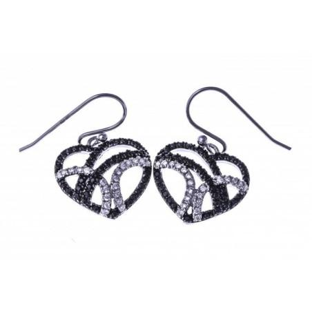 Boucles d'oreilles en argent 925/1000 - Zyva