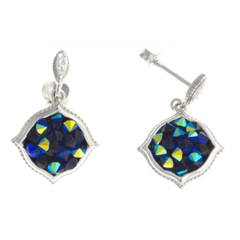 Boucles d'oreilles en cristal Rock pour femme - Ebloui - Lyn&Or Bijoux