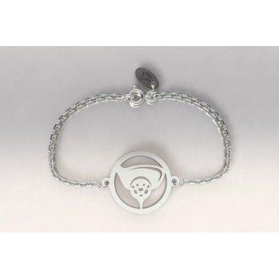Bracelet Golf en argent pour femme - Bois et tee - Lyn&Or Bijoux