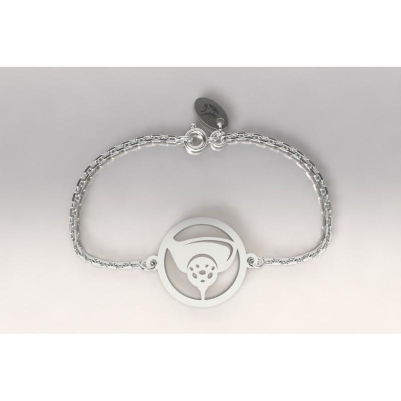 Bracelet golf pour femme en argent - bijoux de créateur