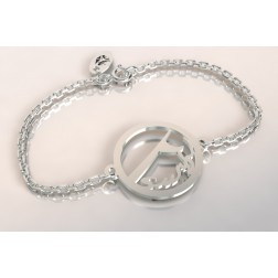 Bracelet créateur original vague de surf surf en argent 925