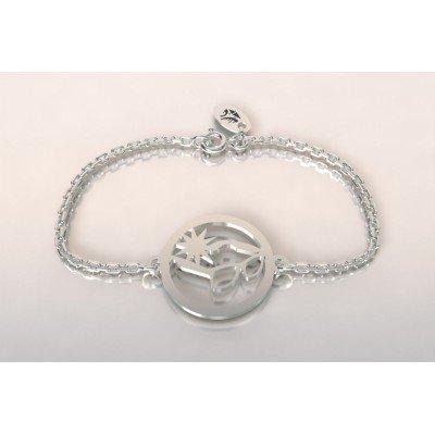 Bracelet de créateur en argent pour femme - Lunettes de soleil - Lyn&Or Bijoux