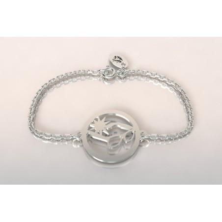 Bracelet de créateur en argent - Lunettes de soleil