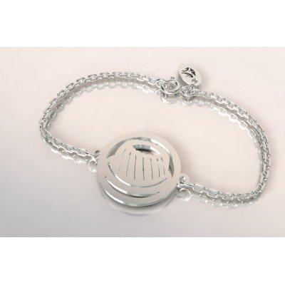Bracelet de créateur en argent pour femme - Kouglof - Lyn&Or Bijoux