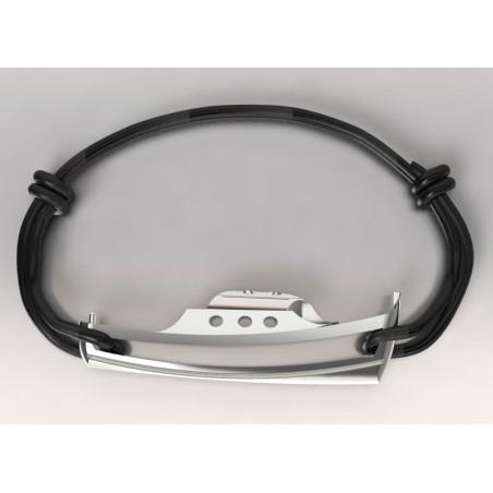 Bracelet créateur original Pinasse en argent 925 millièmes