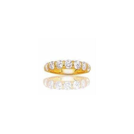 Alliance en or 18 carats et diamant - Niagara