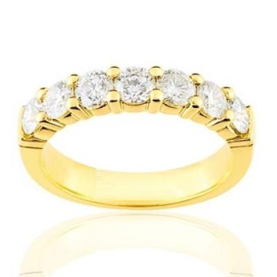 Alliance en or 18 carats et diamant pour femme - Andalousie - Lyn&Or Bijoux