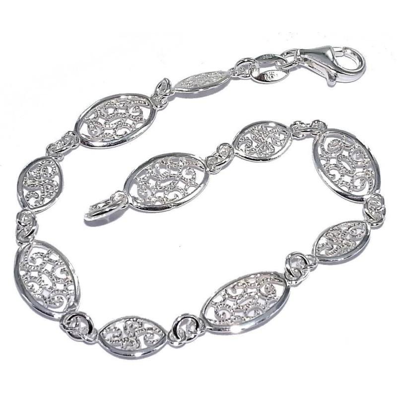 Bracelet en argent 925 millièmes - Cinta
