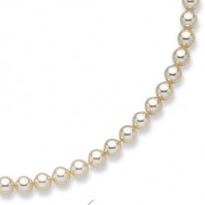 Bracelet de perle de Majorque 8 mm - Annaelle