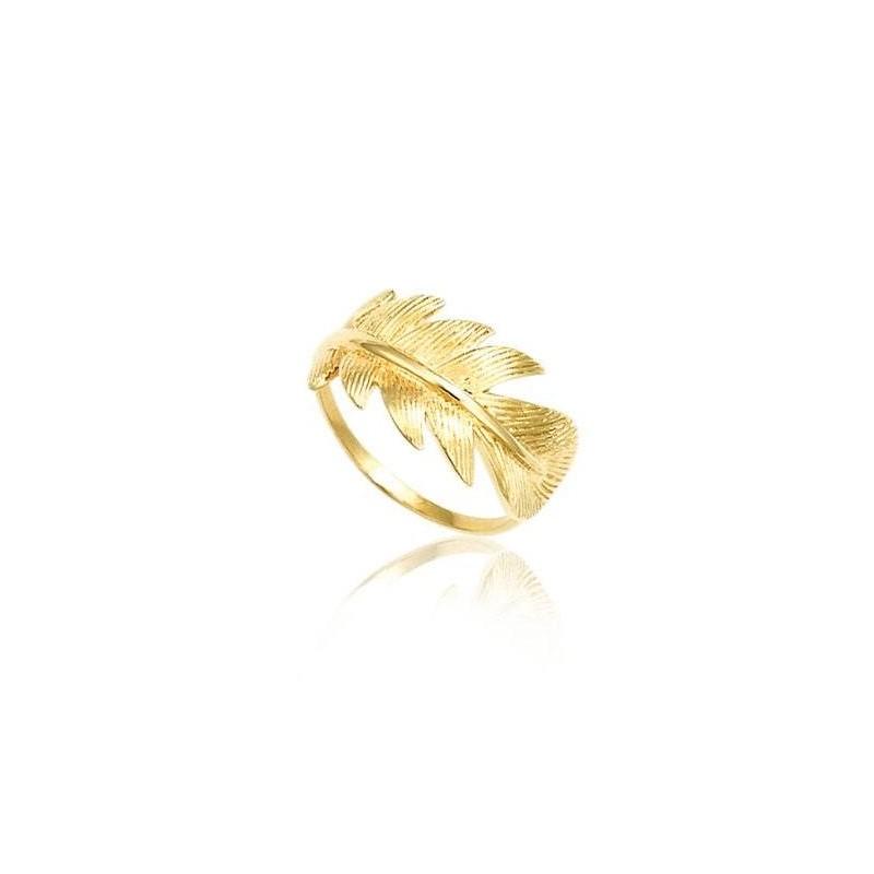 Bague fantaisie en plaqué or pour femme, Douce Brise
