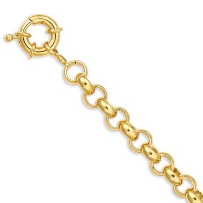 Bracelet Jaseron en plaqué or pour femme - Talita - Lyn&Or Bijoux